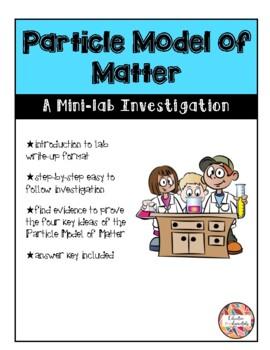 Particle Model of Matter - Mini-lab Investigation