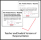 Particle Theory and Classification of Matter - PowerPoint Lesson & Notes
