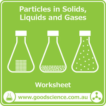 Particles in Solids, Liquids and Gases [Worksheet – Print