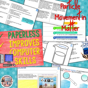 Particles of Matter Model 5E Science Unit