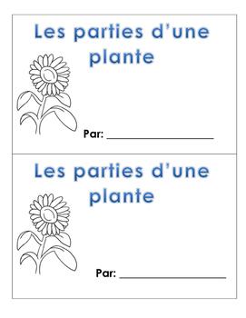 Parties d'une plante livret