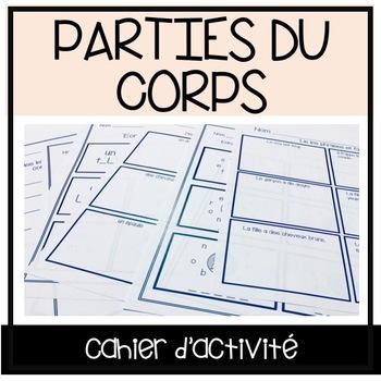 Les Parties du Corps - Cahier d'exercice