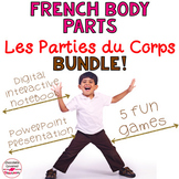 Parties du Corps (French Body Parts) Bundle