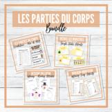 Les Parties du Corps - Body Parts French Unit - BUNDLE!