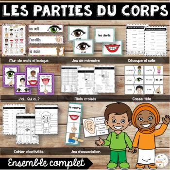 Parties du corps - Ensemble - French Body Parts - Bundle