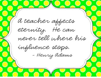 Parting Thought for Teacher's Lounge Radio Episode 18