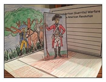 Partisan (Guerrilla) Warfare during the American Revolution
