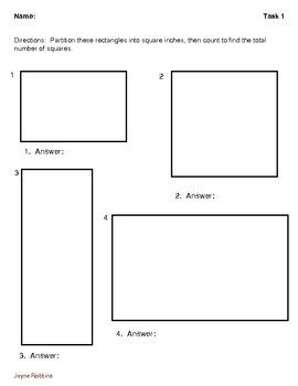 Partition A Rectangle Into Same-Size Squares: Four Activity Pages
