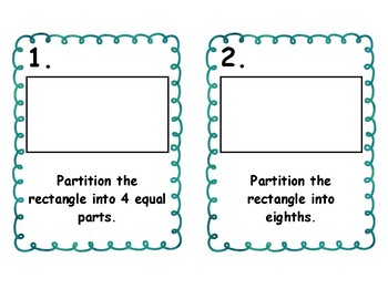 Partition Fractions Into Equal Parts