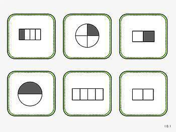 Partition Shapes-Geometry Pack 3 (First Grade, 1.G.3)