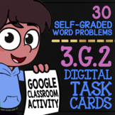 Partitioning Shapes Digital Task Cards ★ 3.G.2 Activity for Google Classroom