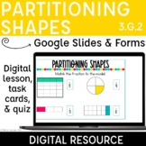 Partition Shapes into Equal Areas with Fractions Digital D