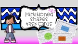 3.G.2 Partitioned Shapes Task Cards