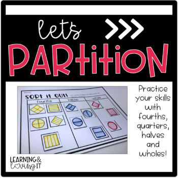 Partitioning Circles and Squares 1.G.A.3 Common Core