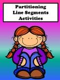 Partitioning Line Segments Activities
