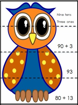 Partitioning Number Owls by Suzanne Harding
