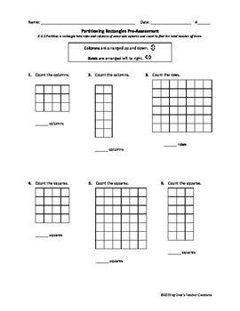 Partitioning Rectangles Assessments