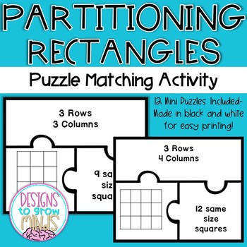 Partitioning Rectangles Matching Activity