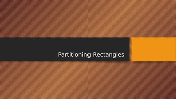 Power Point Partitioning Rectangles