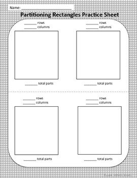 Partitioning Rectangles into Rows and Columns