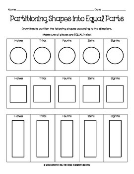 Partitioning Shapes
