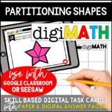 Partitioning Shapes: Digital Math Centers