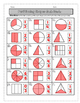Partitioning Shapes Fraction Task Cards {2.G.A.3, 3.G.A.2,