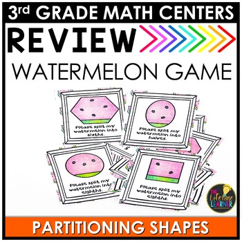 Partitioning Shapes Summer Game