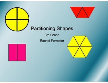 Partitioning Shapes Lesson