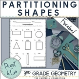 Partitioning Shapes Practice Freebie!