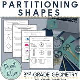 Partitioning Shapes Worksheets | Distance Learning