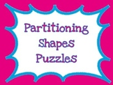 Partitioning Shapes Puzzles