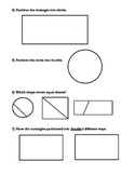 Partitioning Shapes in Geometry