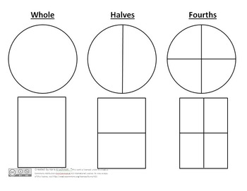 Partitioning Shapes into Equal Shares Lesson Plans - 1st Grade