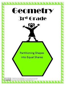 Partitioning Shapes into Equal Shares Lesson Plans - 3rd Grade