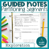 Partitioning a Line Segment (Directed Line Segment) BINDER notes