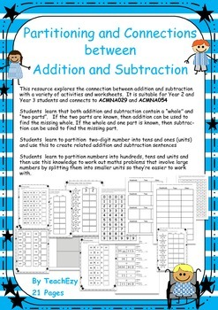 Partitioning and the Connection between Addition and Subtraction