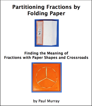 Partitioning into Fractions by Folding Shapes and with Geoboards