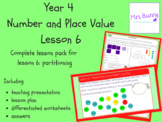 Partitioning lesson pack (Year 4 Number and Place Value)