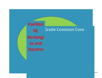 Partitioning rectangles and circles scoot