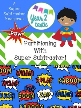 Partitioning to Subtract Word Problems {year2tastic}