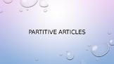 Partitive Articles