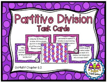 Partitive Division (Grade 3 GoMath! 6.2)