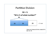 Partitive and Measurement Division