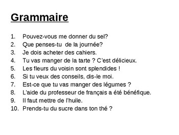 Partitive article / Some / du, de la, de l', des