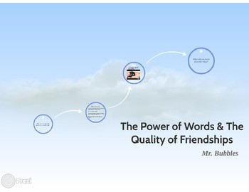 Guidance Lesson - The Power of Words in Friendship