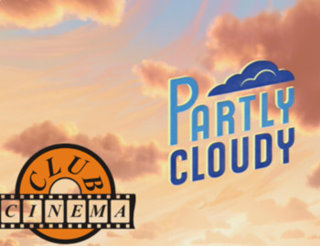 Partly cloudy. Lesson plan for cinema club