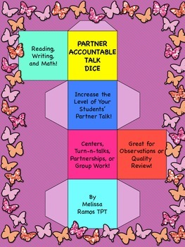 Partner Accountable Talk Dice