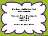 Partner Activity Mat- Subtraction
