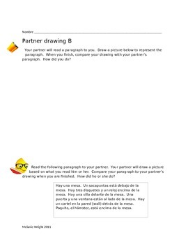 Partner Activity - School Objects
